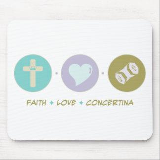 Faith Love Concertina Mouse Pad