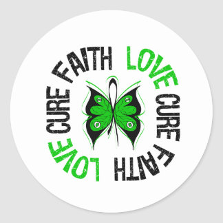 Faith Love Cure - Stem Cell/Bone Marrow Transplant Classic Round Sticker