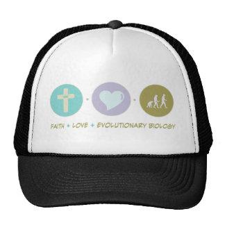 Faith Love Evolutionary Biology Trucker Hat