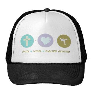Faith Love Figure Skating Hats