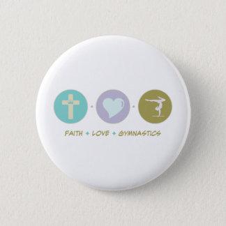 Faith Love Gymnastics Button