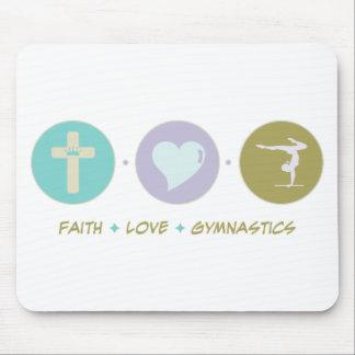 Faith Love Gymnastics Mouse Pad