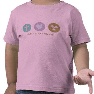 Faith Love Hazmat Tee Shirts