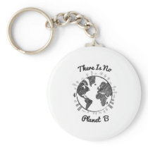 Faith Love Hope Breast Cancer Awareness Gift Keychain