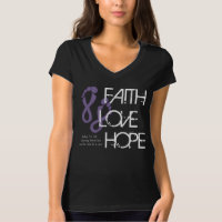 Faith Love Hope - Relay For Life T-Shirt