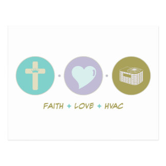 Faith Love HVAC Postcard