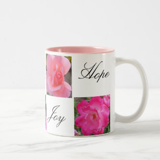 Faith Love Joy Hope Mugs
