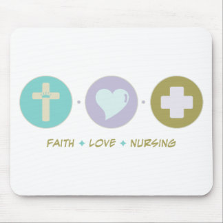 Faith Love Nursing Mouse Pad