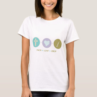 Faith Love Oboe T-Shirt