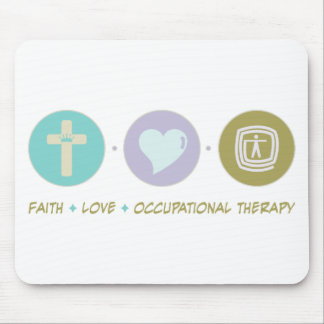 Faith Love Occupational Therapy Mouse Pad