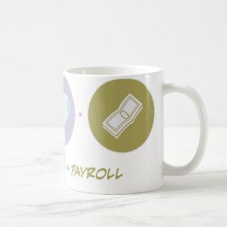 Faith Love Payroll Classic White Coffee Mug