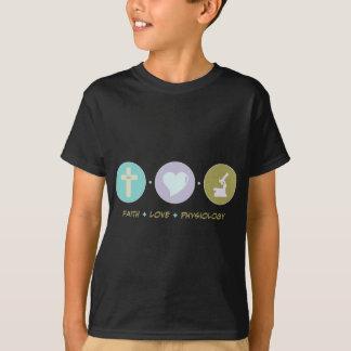 Faith Love Physiology T-Shirt