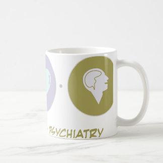 Faith Love Psychiatry Coffee Mugs