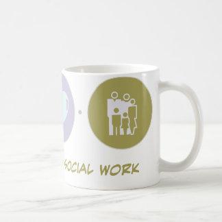 Faith Love Social Work Coffee Mug