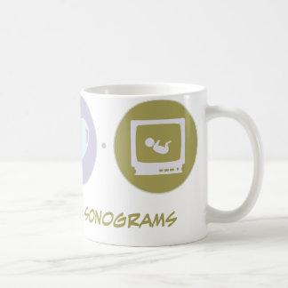 Faith Love Sonograms Classic White Coffee Mug