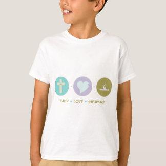 Faith Love Swimming T-Shirt