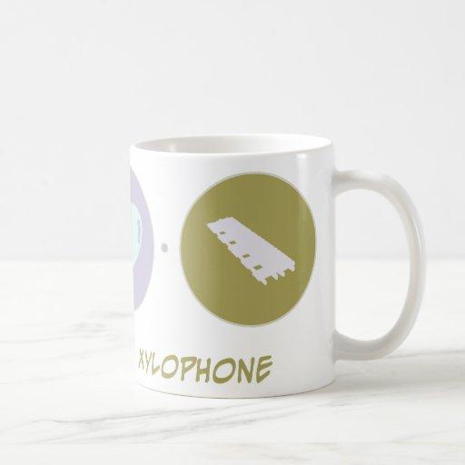 Faith Love Xylophone Coffee Mugs