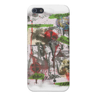 Faith Machine Gothic Water Color Print iPhone SE/5/5s Cover