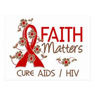 Faith Matters 3 AIDS Postcard