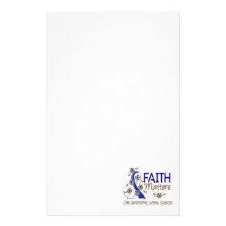 Faith Matters 3 ALS Custom Stationery