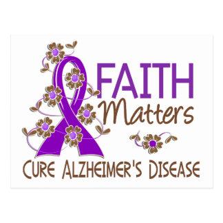 Faith Matters 3 Alzheimer's Disease Postcard