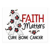 Faith Matters 3 Bone Cancer Postcard