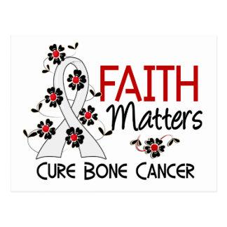 Faith Matters 3 Bone Cancer Postcard