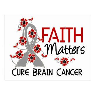 Faith Matters 3 Brain Cancer Postcard