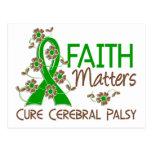 Faith Matters 3 Cerebral Palsy Postcard