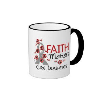 Faith Matters 3 Diabetes Ringer Coffee Mug