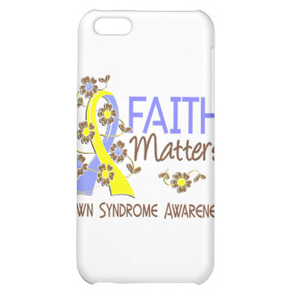 Faith Matters 3 Down Syndrome iPhone 5C Cover