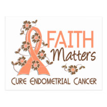 Faith Matters 3 Endometrial Cancer Postcard