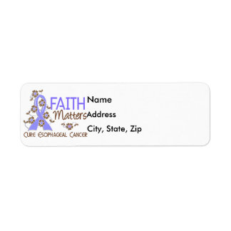 Faith Matters 3 Esophageal Cancer Label