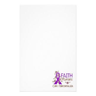 Faith Matters 3 Fibromyalgia Stationery