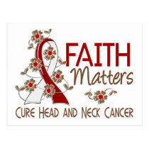 Faith Matters 3 Head and Neck Cancer Postcard