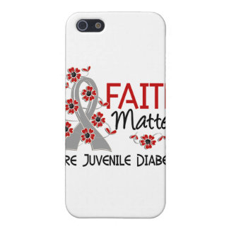 Faith Matters 3 Juvenile Diabetes Cases For iPhone 5