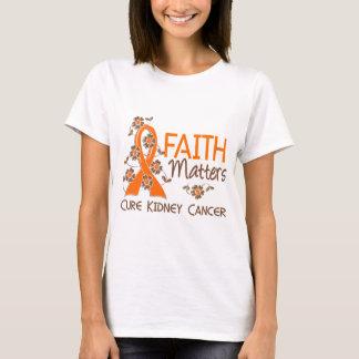 Faith Matters 3 Kidney Cancer T-Shirt