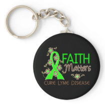 Faith Matters 3 Lyme Disease Keychain