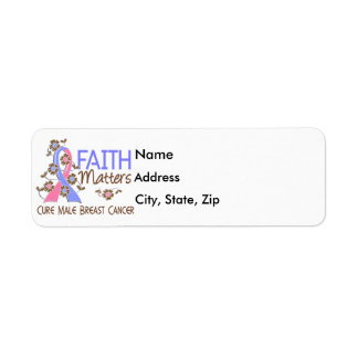Faith Matters 3 Male Breast Cancer Return Address Label