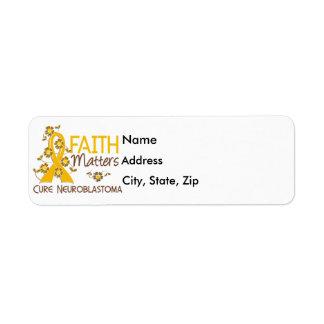 Faith Matters 3 Neuroblastoma Label
