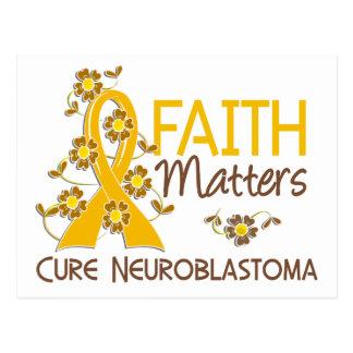 Faith Matters 3 Neuroblastoma Postcard