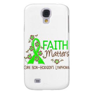 Faith Matters 3 Non-Hodgkin's Lymphoma Samsung Galaxy S4 Cover