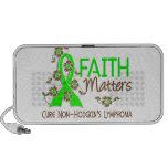 Faith Matters 3 Non-Hodgkin's Lymphoma iPod Speakers