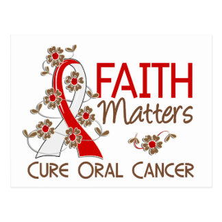 Faith Matters 3 Oral Cancer Postcard