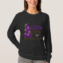 Faith Matters 3 Pancreatic Cancer T-Shirt
