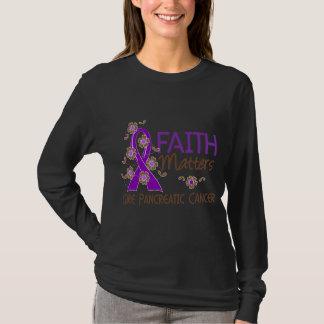 Faith Matters 3 Pancreatic Cancer T-Shirt