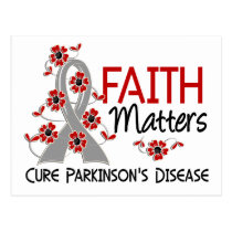 Faith Matters 3 Parkinson's Disease Postcard