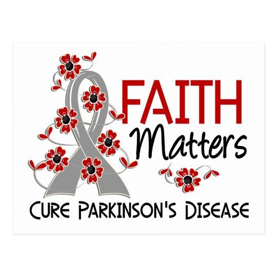 Faith Matters 3 Parkinson's Disease Postcard