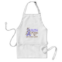 Faith Matters 3 Stomach Cancer Adult Apron
