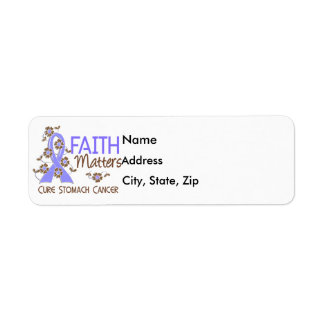 Faith Matters 3 Stomach Cancer Label